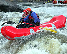 self bailing whitewater rafts